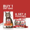 June offer Emailer 2 1 - BUY 1.5 KG Adult Cat food with Chicken and GET 4 Wet food Pouches FREE