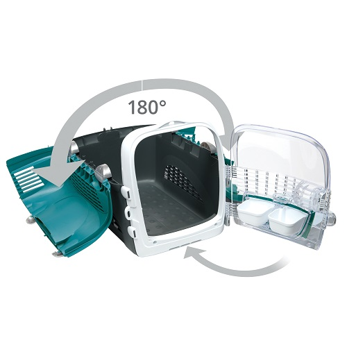 ha41371 - Cabrio Cat Carrier System - Turquoise
