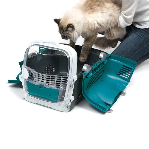 ha41371 b - Cabrio Cat Carrier System - Turquoise