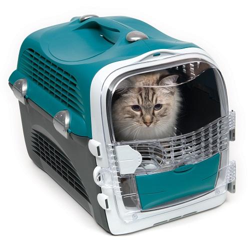 ha41371 c - Cabrio Cat Carrier System - Turquoise