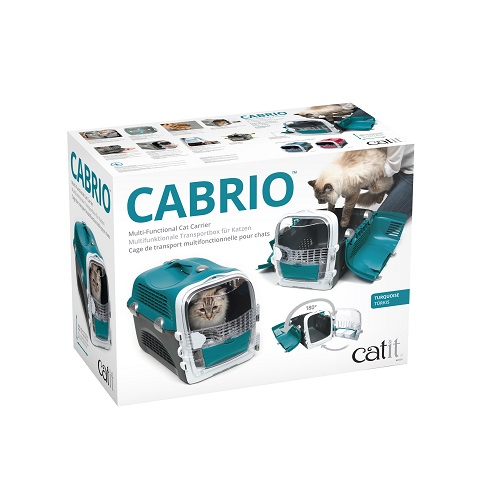 ha41371 e - Cabrio Cat Carrier System - Turquoise