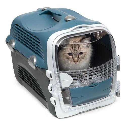 ha41372 d - Cabrio Cat Carrier System - Blue Grey