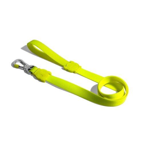 lime1 2 - Zee.Dog Neopro Lime Leash