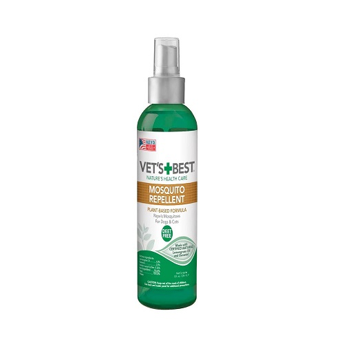 mosquito repellent 1 - Vet's Best Mosquito Repellent for Dogs and Cats