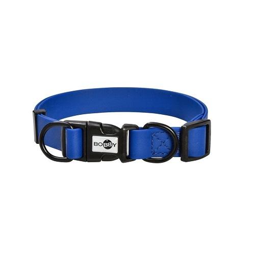pvc pop blue 2 - PVC Pop Collar Blue