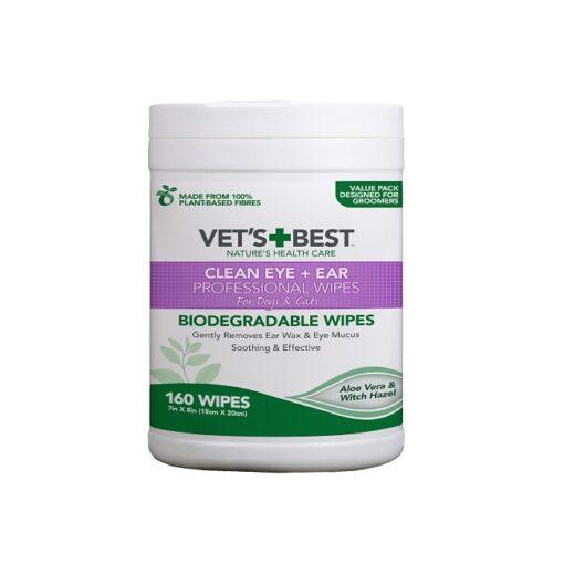 vets best Ear Eye Wipes 1 - Vet's Best Ear & Eye Wipes 160 Pack