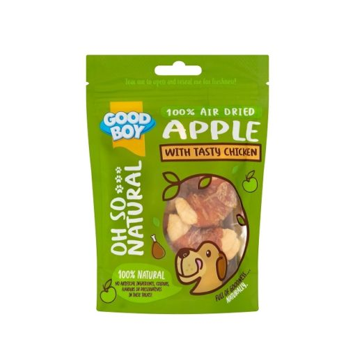 05234 pack - Goodboy Oh So Natural Apple With Tasty Chicken 85g
