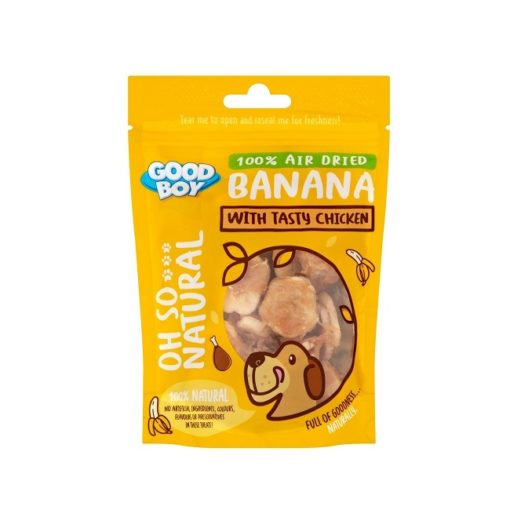 05235 pack - Goodboy Oh So Natural Banana With Tasty Chicken 85g