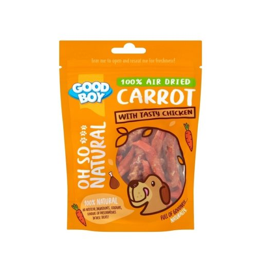 05236 pack - Goodboy Oh So Natural Carrot With Tasty Chicken 85g