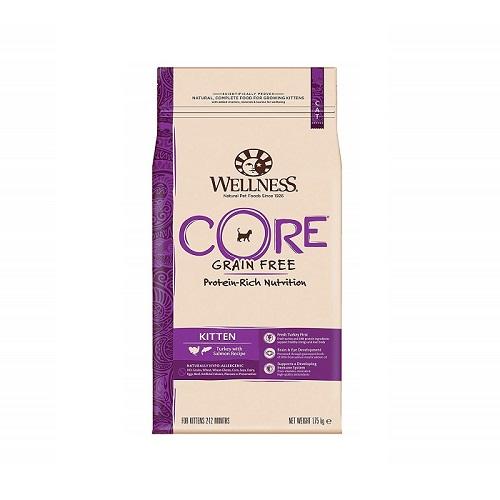 076344107286 - Wellness CORE Turkey with Salmon Recipe Kitten Dry Food