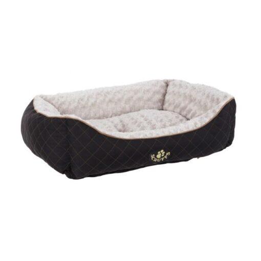 300334 black 1 - Scruffs Wilton Box Dog Beds Black
