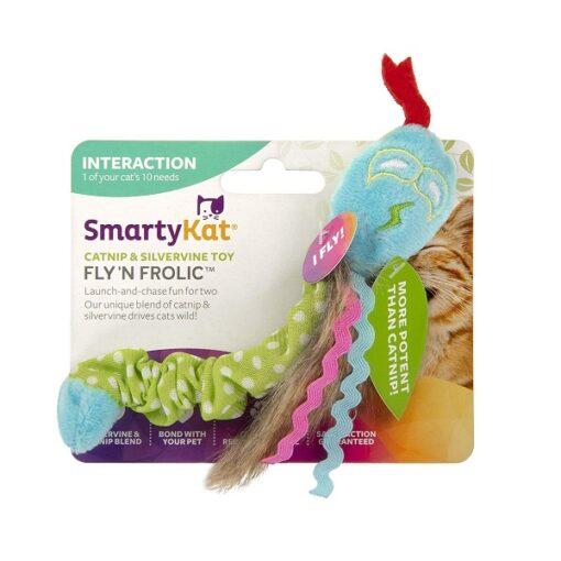 38802 1000x1000 1 - SmartyKat Fly N Frolic Door Dangler Catnip And Silvervine Cat Toy
