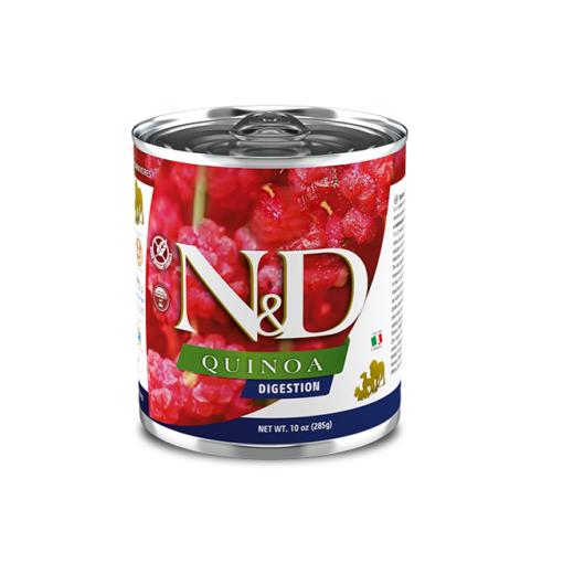 550 15 nd quinoa canine 285g digestion@web x site - Farmina N&D Dog Quinoa Digestion 285g