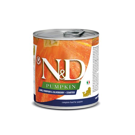 8606014105698 - Farmina N&D Dog Lamb & Pumpkin & Blueberry Starter 285g