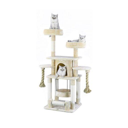 F824 1 - Go PetClub Jungle Rope Cat Tree