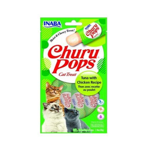 churu pops - Inaba Churu Pops Tuna with Chicken Recipe