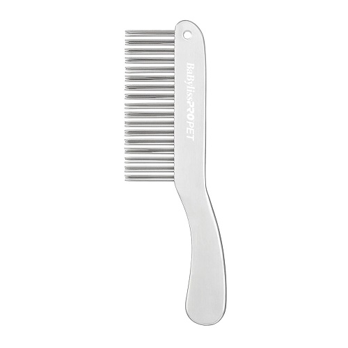 double row comb 1 - BaByliss PRO PET Double-Row Handle Dog Comb