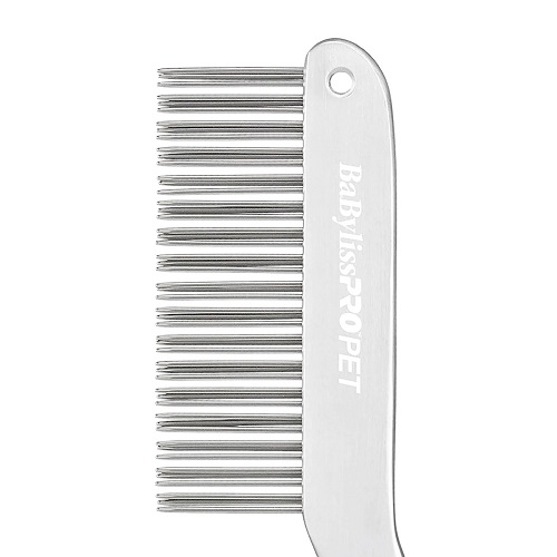 double row comb 3 - BaByliss PRO PET Double-Row Handle Dog Comb