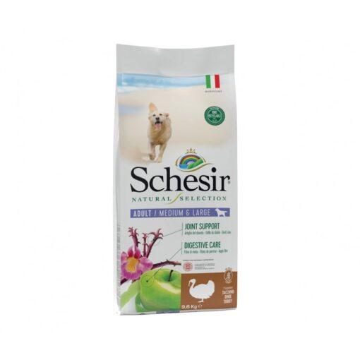 schesir natural selection dog dry food mediumlarge turkey - Schesir Natural Selection Dog Dry Food Medium&Large Turkey