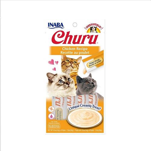 usa603a churu chicken recipe rgb - Inaba CIAO Churu Chicken Recipe 56g