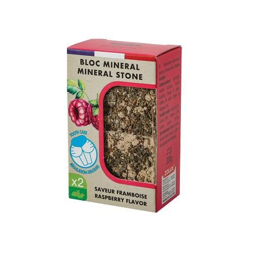 zl234049 - Bloc Mineral Stone Raspberry Flavor X2 200g