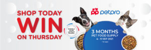 TC STWON PETFOOD2 medium - Shop Today, Win on Thursday Terms & Conditions