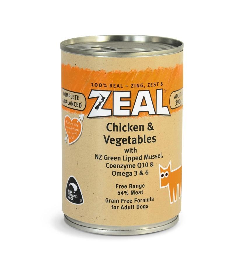 216 - Zeal - Chicken & Vegetables (390g)