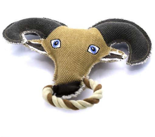 23 2 1 scaled - Lemon Dog Eco Goat Toy