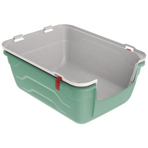26 1 - Georplast Roto-Toilet Cat Litter Box Green