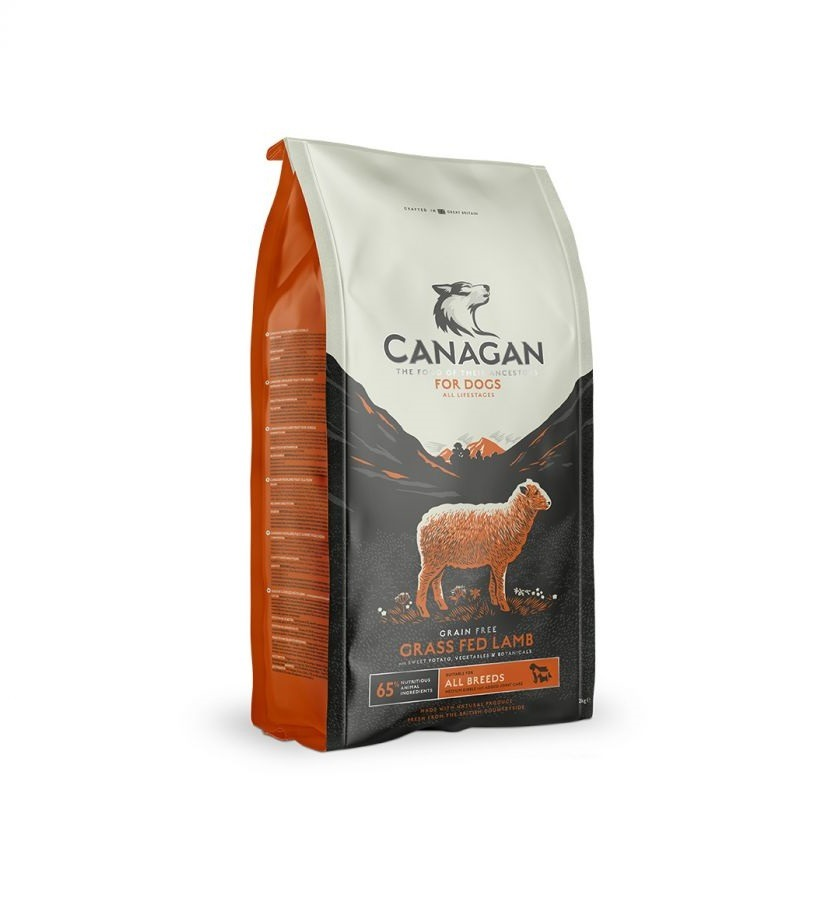 300767 6 - Canagan Grass Fed Lamb for Dogs Dry Food