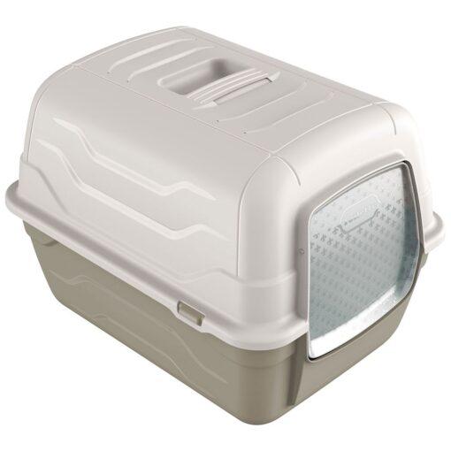 33 1 - Georplast Roto-Toilet Cat Litter Box Grey