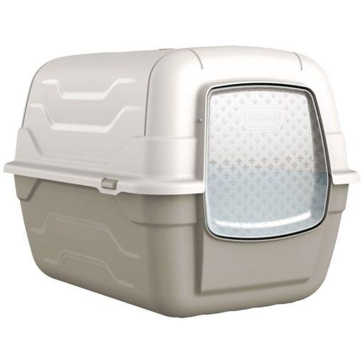 37 1 1 - Georplast Roto-Toilet Cat Litter Box Grey