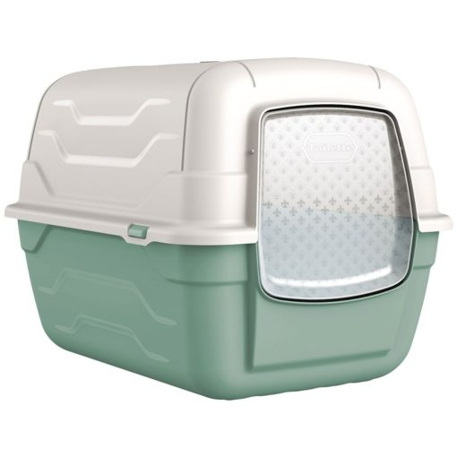 38 1 1 - Georplast Roto-Toilet Cat Litter Box Green