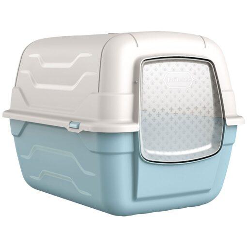 39 1 1 - Georplast Roto-Toilet Cat Litter Box Blue