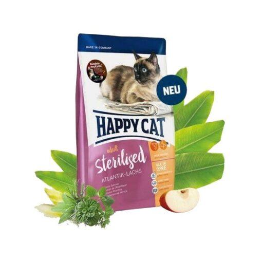 4001967105292 500x500 2 - Happy Cat - Adult Sterilised Atlantik-Lachs