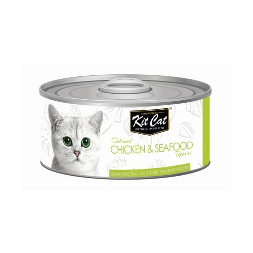4126 - Kit Cat - Chicken & Seafood Toppers (80g)