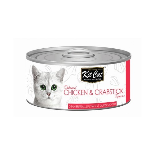 4128 - Kit Cat - Chicken & Crabstick Toppers (80g)