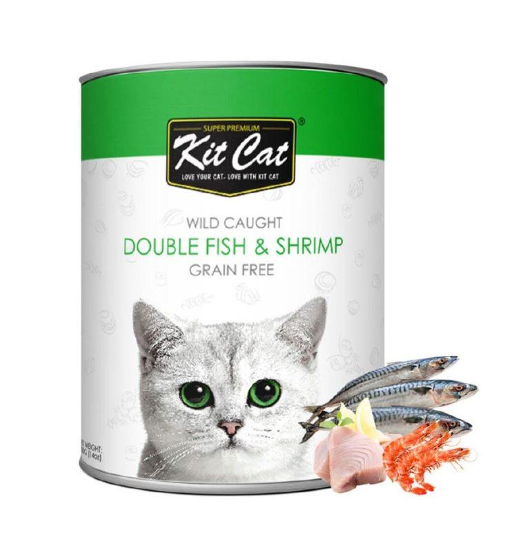 4133 - Kit Cat - Double Fish & Shrimp (400g)