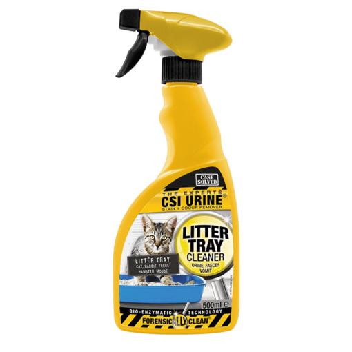 5060415291054 1 - CSI URINE Litter Tray Cleaner Trigger 500ml