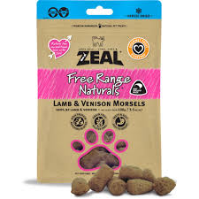 6 18 - Zeal - Dried Lamb & Venison Morsels (Cat) (100 g)