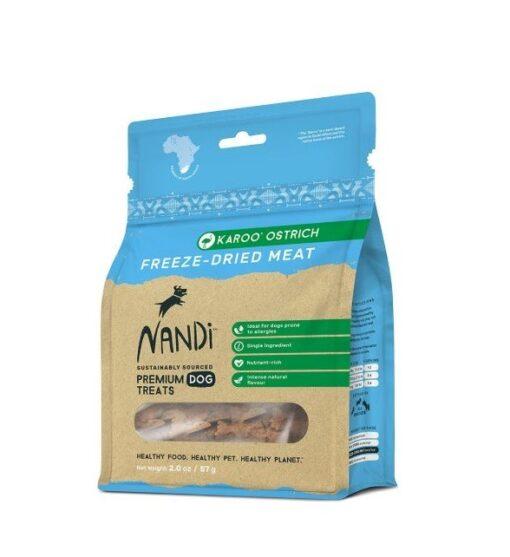 6009880836000 - Nandi - Karoo Ostrich Freeze Dried Meat 57g