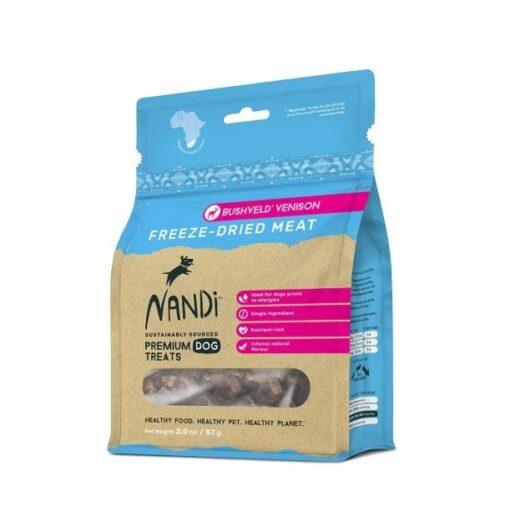 6009880836017 - Nandi - Bushveld Venison Freeze Dried Meat 57g
