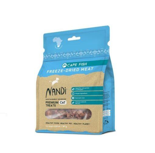 6009880836062 - Nandi - Cape Fish Freeze Dried Meat 57g