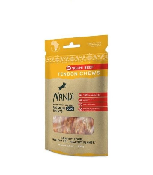 6009880836185 - Nandi - Nguni Beef Tendon Chews 100g