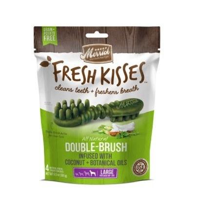 66023 - Merrick - Fresh Kisses Coconut Oil Brushes (4 x Large)