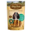 69214997111991 - Dog Fest Chicken Strips On Chewy Stick 90g