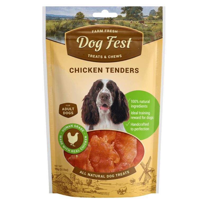 69214997112051 - Dog Fest Chicken Tenders 90g