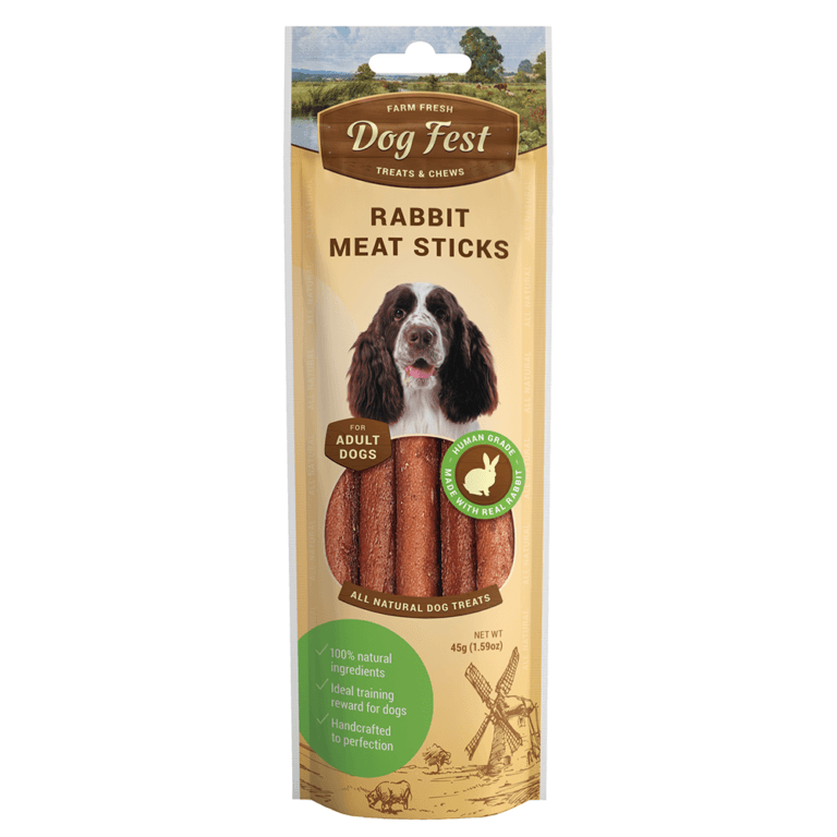 69214997113041 - Dog Fest Rabbit Meat Sticks 45g