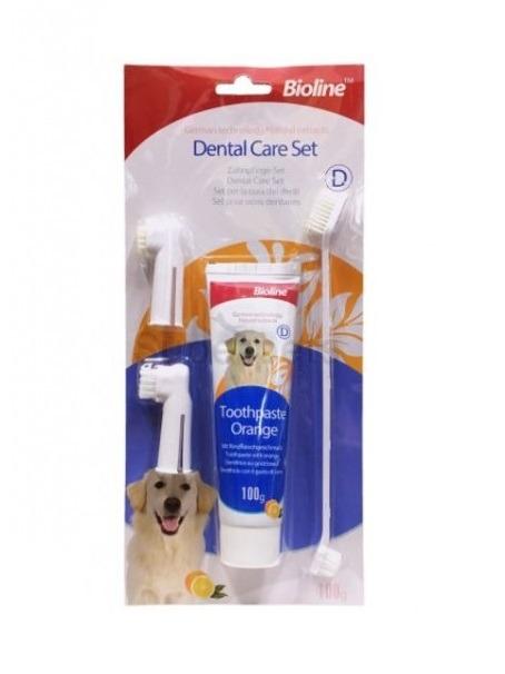 6970117121025 dental - Bioline - Dental Care Set (Orange)100g