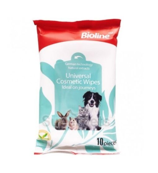 6970117121377 universal - Bioline - Universal Cosmetic Wipes 10pcs